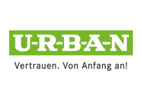 Urban Logo green white - Trust right from the start!